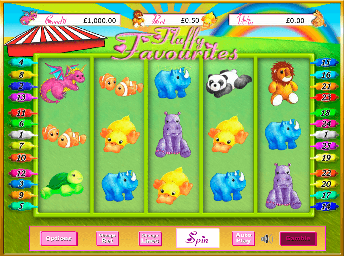Spiele Fluffy Favourites - Video Slots Online