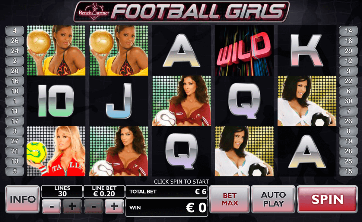 football girls playtech slot machine