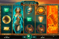 forbidden throne microgaming slot machine
