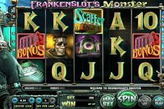 frankenslots monster betsoft slot machine