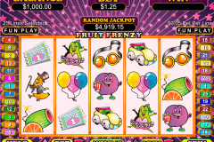 fruit frenzy rtg slot machine