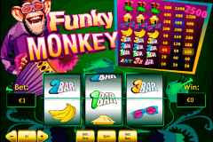funky monkey playtech slot machine
