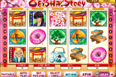 geisha story playtech slot machine