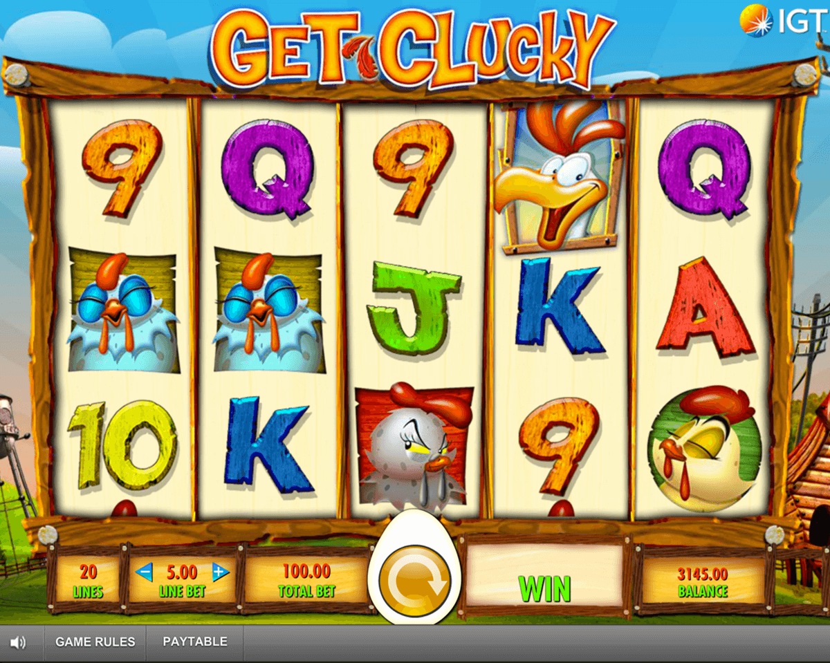 get clucky igt slot machine