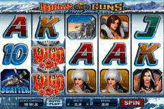 girls with guns frozen dawn microgaming slot machine