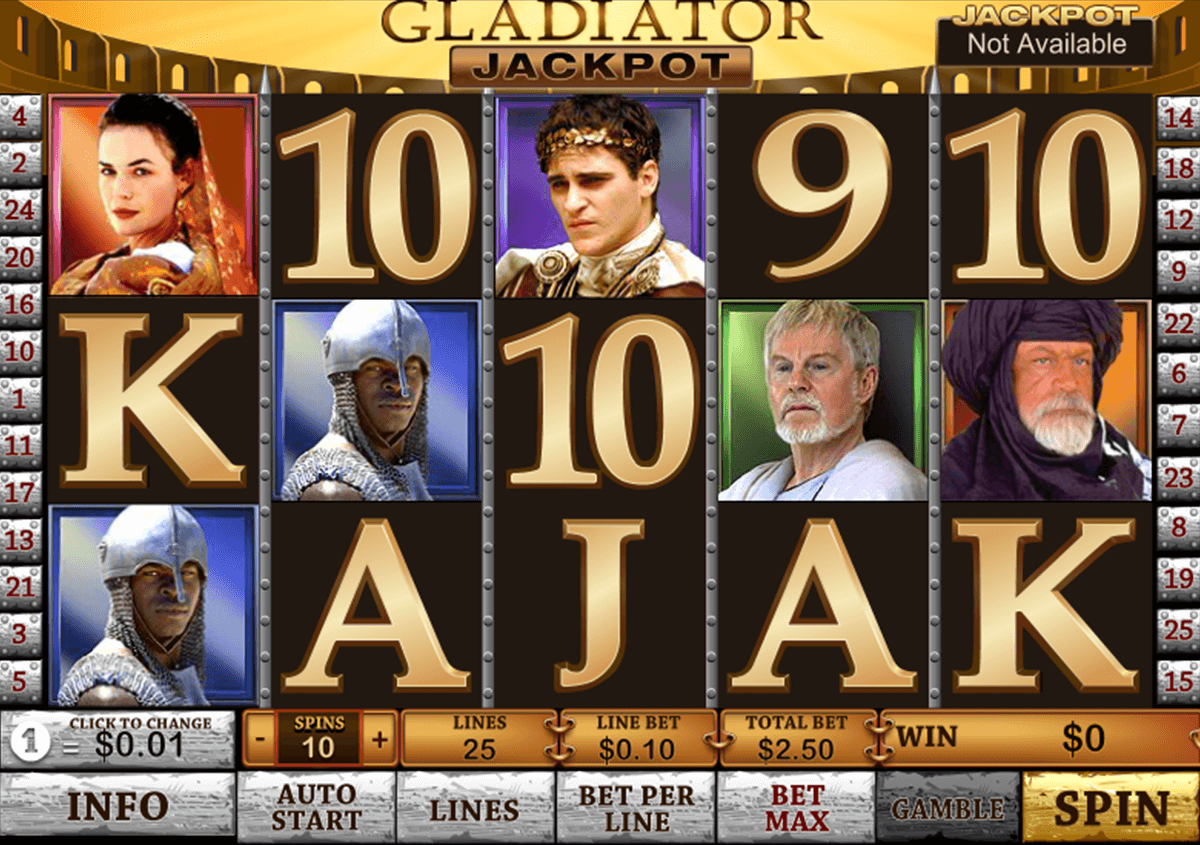 Play Gladiator Jackpot Online Slots at Casino.com UK