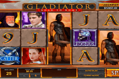 gladiator road to rome playtech slot machine