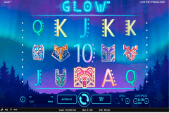 glow netent slot machine