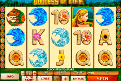 goddess of life playtech slot machine