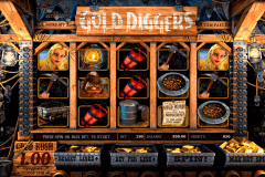 gold diggers betsoft slot machine