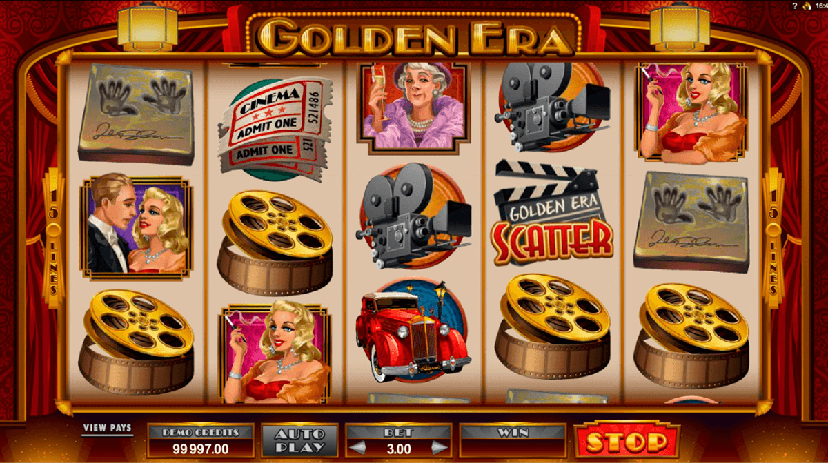 golden era microgaming slot machine