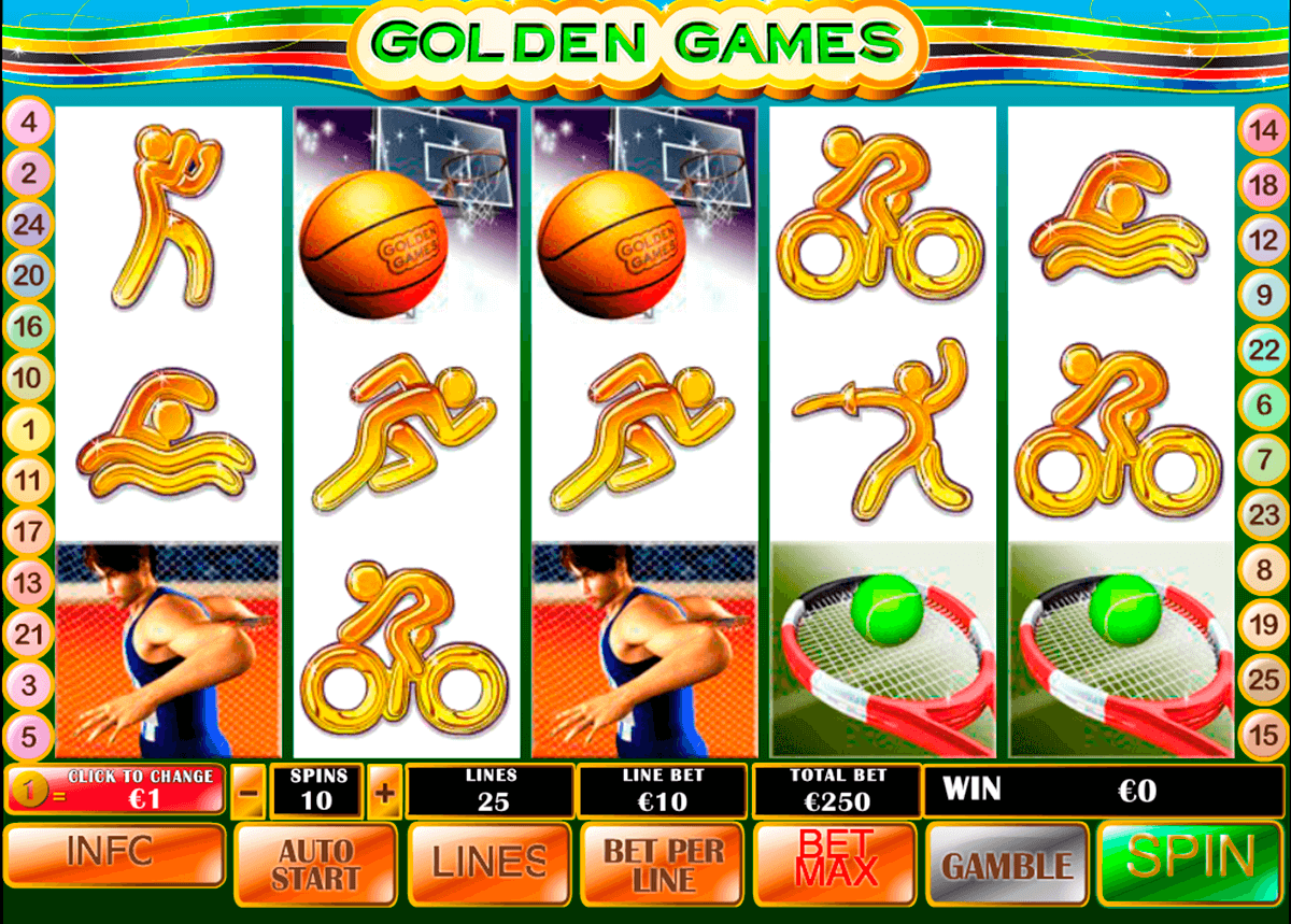 golden games playtech slot machine