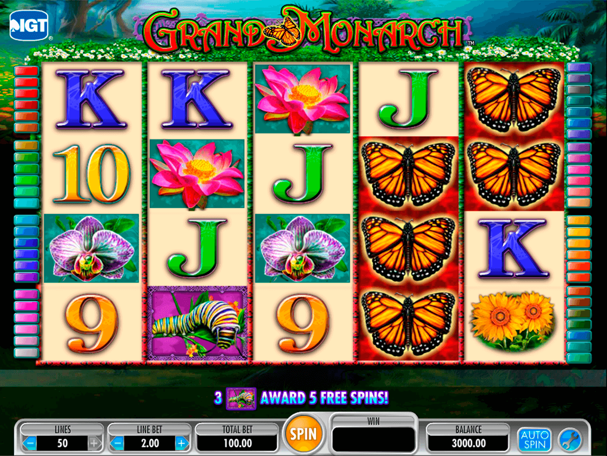 grand monarch igt slot machine