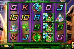 green lantern netgen gaming slot machine