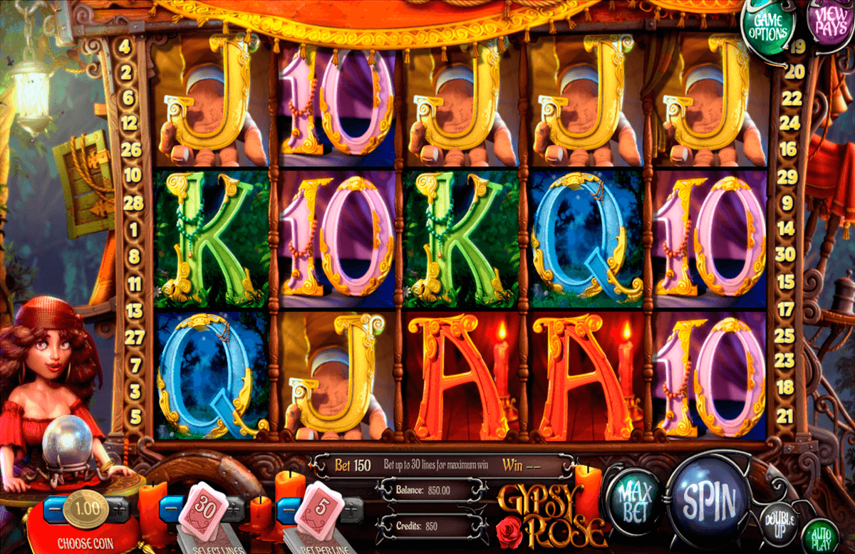 gypsy rose betsoft slot machine