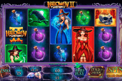 halloween fortune ii playtech slot machine