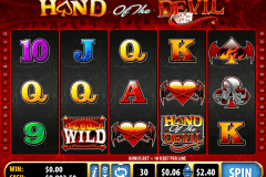 hand of the devil bally slot machine