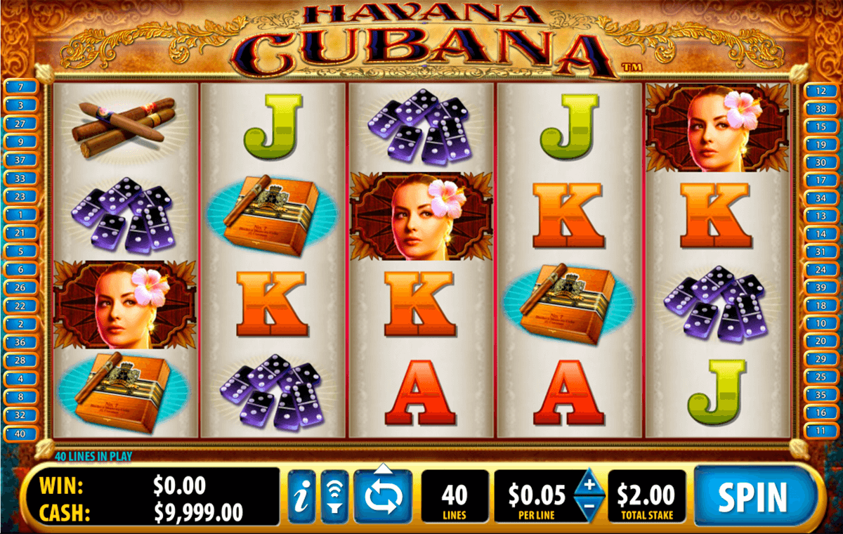 havana cubana bally slot machine