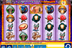 hearts of venice wms slot machine