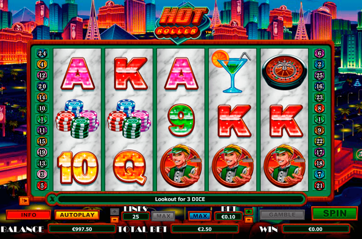 hot roller netgen gaming slot machine