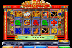 house of dragons microgaming slot machine