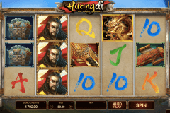 huangdi the yellow emperor microgaming slot machine