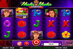 hula hula nights wms slot machine
