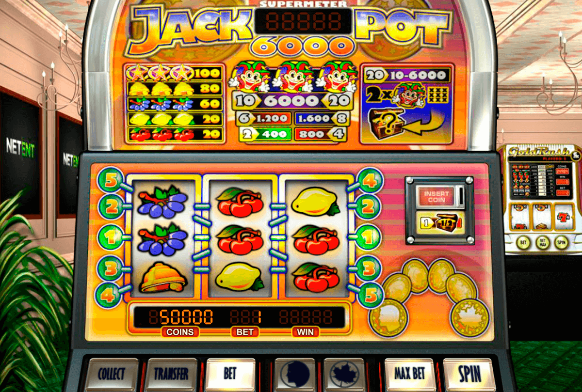 jackpot  netent slot machine