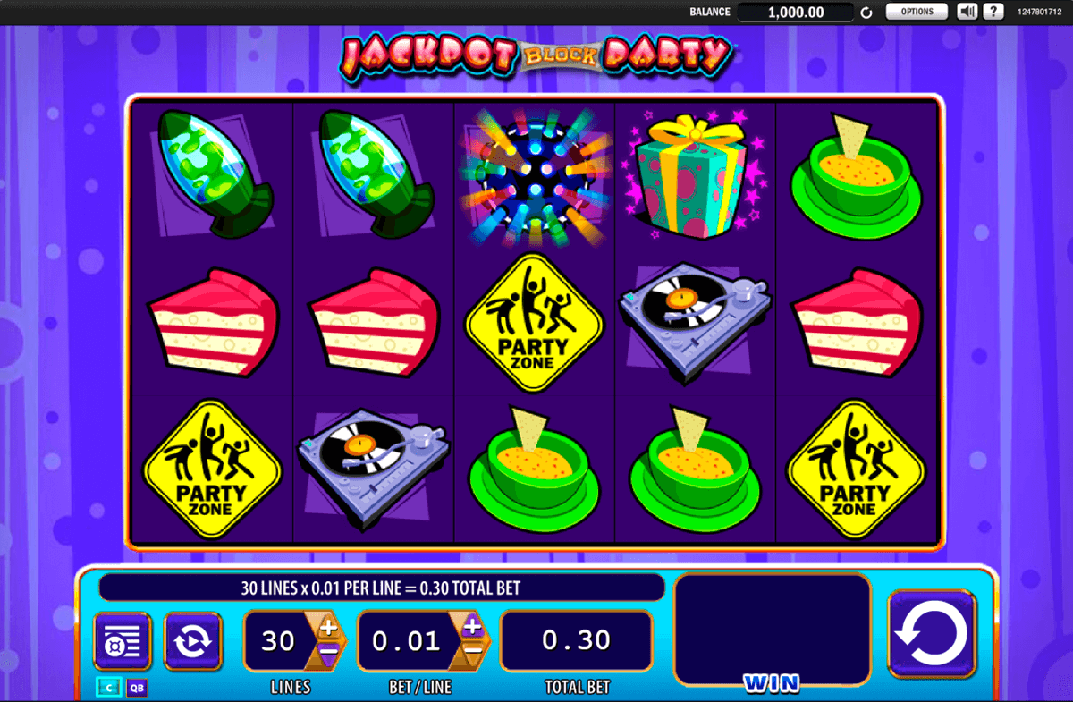 Jackpot Block Party Slot Machine