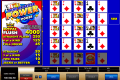 jacks or better  play power poker microgaming online poker