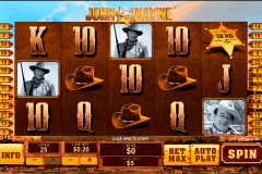 john wayne playtech slot machine