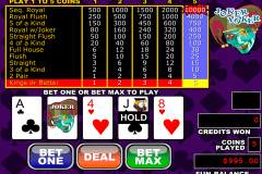 joker poker video poker rtg online poker