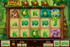 jungle trouble playtech slot machine