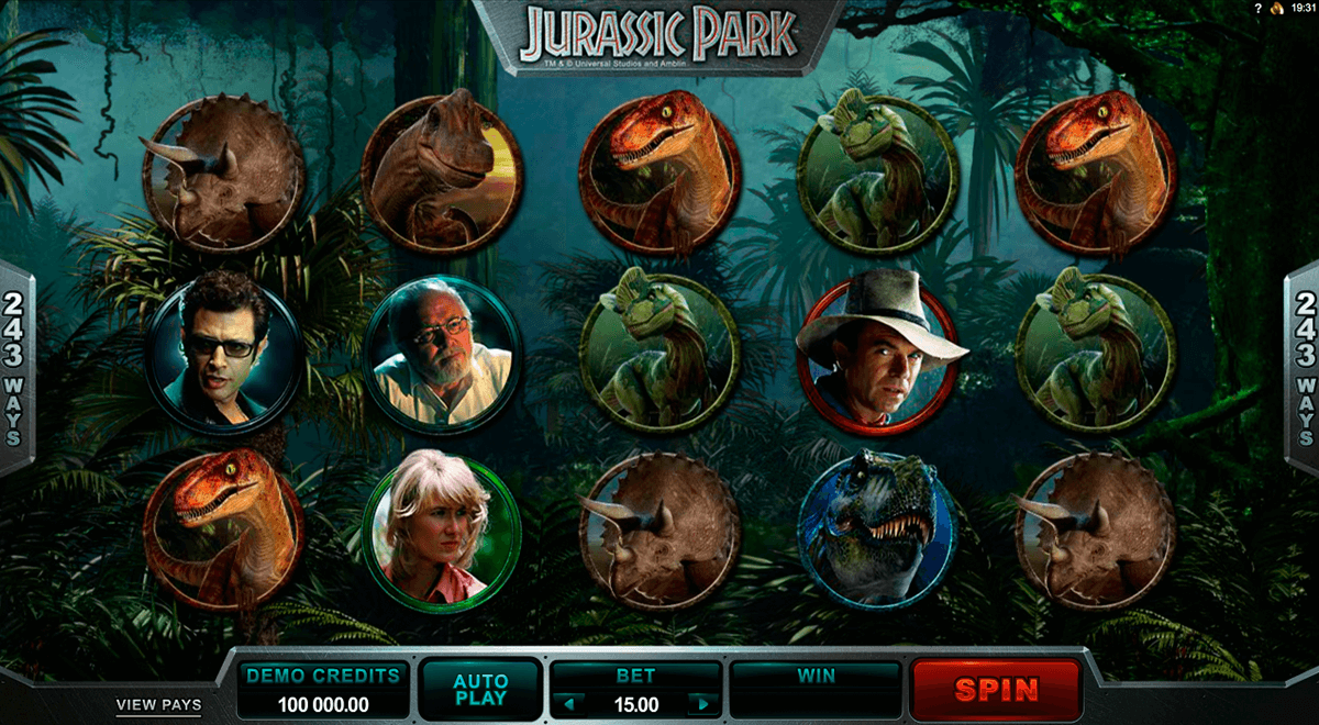 Jurassic Park Slot Machine Online