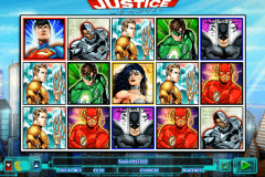 justice league netgen gaming slot machine