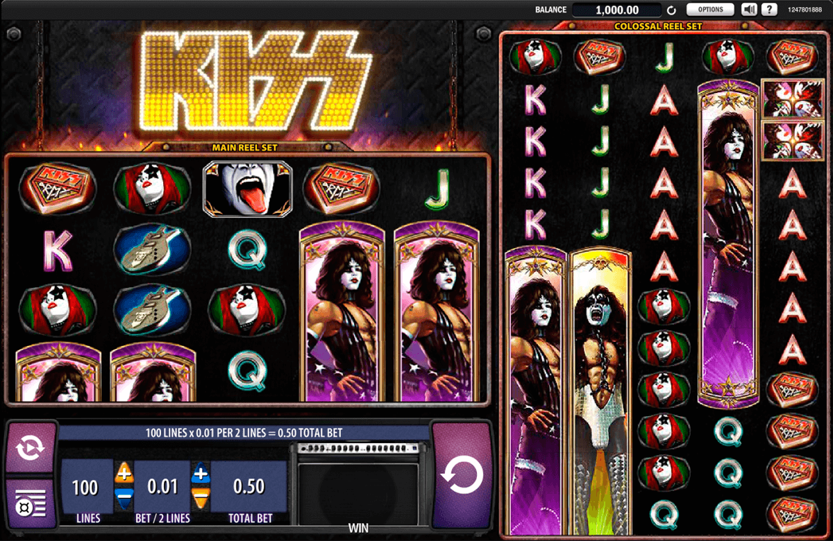 kiss wms slot machine
