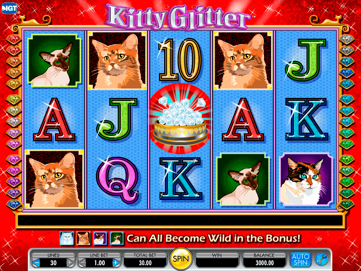 kitty glitter igt slot machine