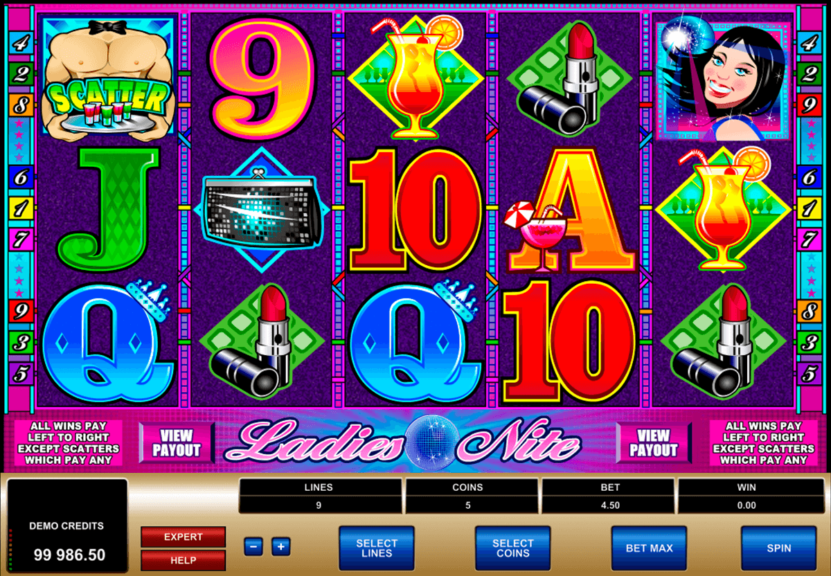 ladies nite microgaming slot machine