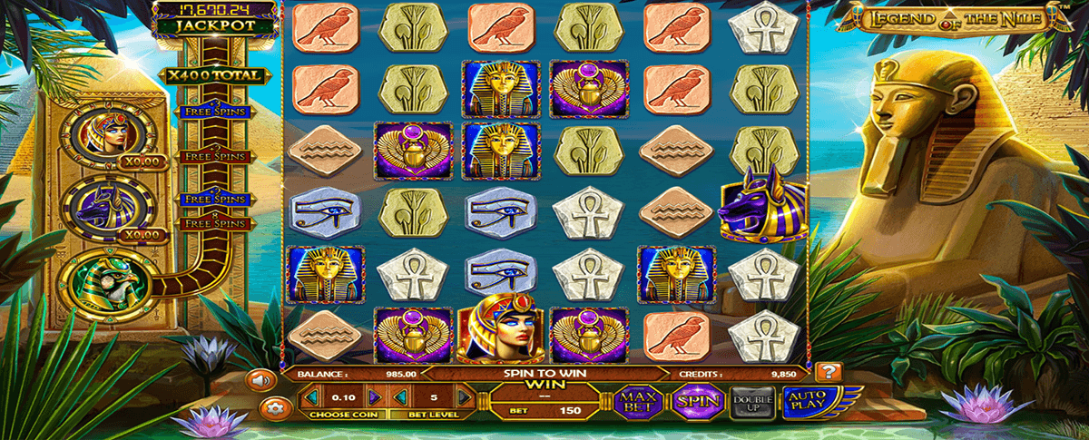 legend of the nile betsoft slot machine