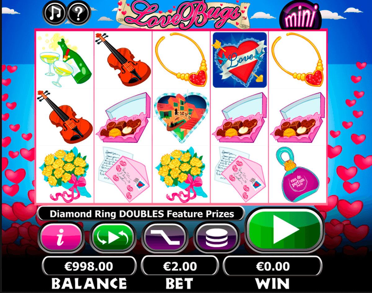 love bugs netgen gaming slot machine