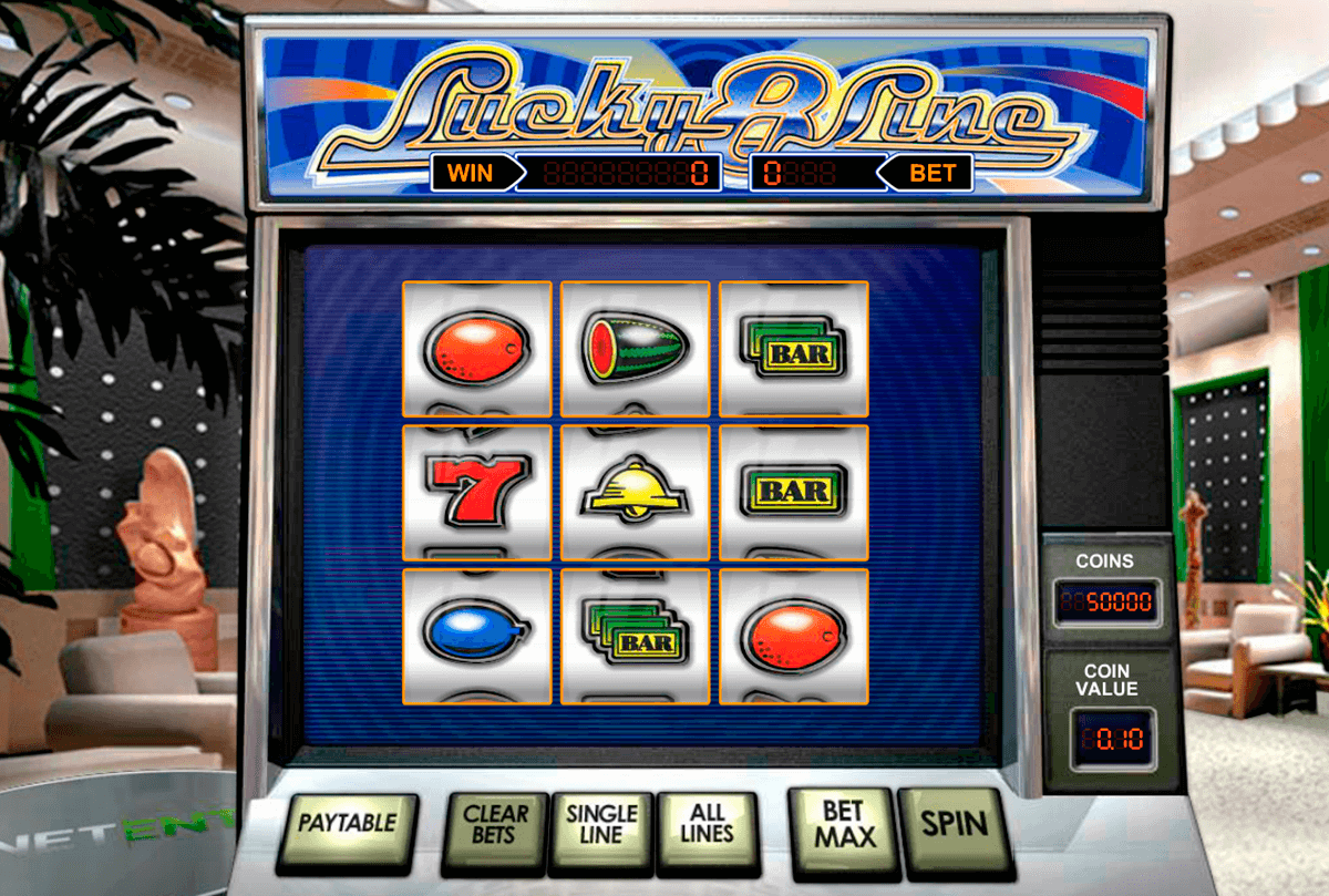 lucky  line netent slot machine