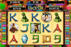 lucky  rtg slot machine