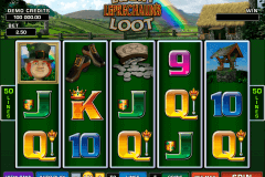 lucky leprechauns loot microgaming slot machine
