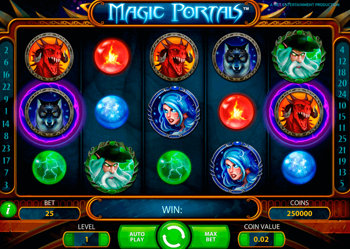 magic portals netent slot machine