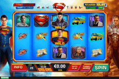 man of steel playtech slot machine