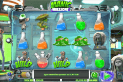 manic millions netgen gaming slot machine