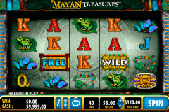 mayan treasures bally slot machine
