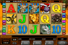 mega moolah microgaming slot machine