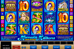 mermaids millions microgaming slot machine
