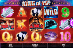 michael jackson king of pop bally slot machine